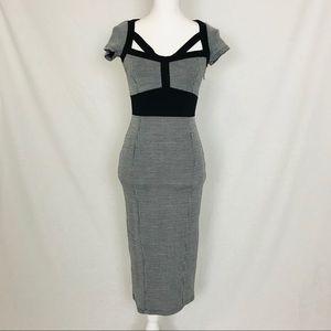 ASOS Black & White Dress